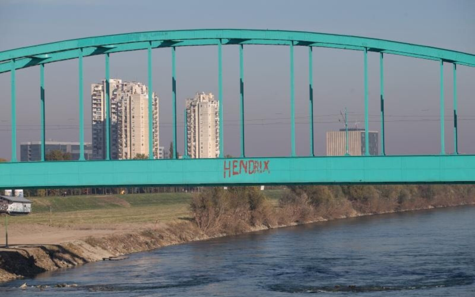 Foto Zeleni Most Postaje Hendrixov Most Poslovni Dnevnik