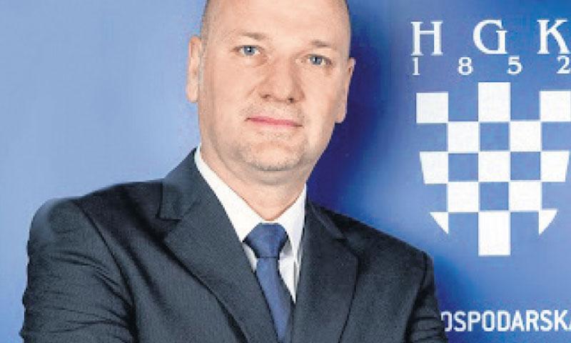 Augustin Torbarina, Sektor za industriju HGK