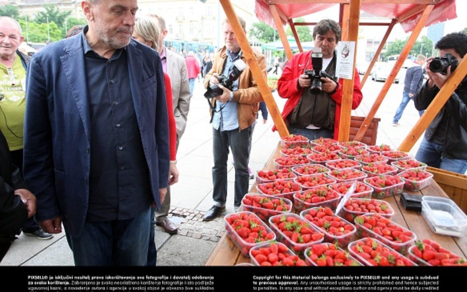 Otvoreni 20. Dani zagrebačkih jagoda