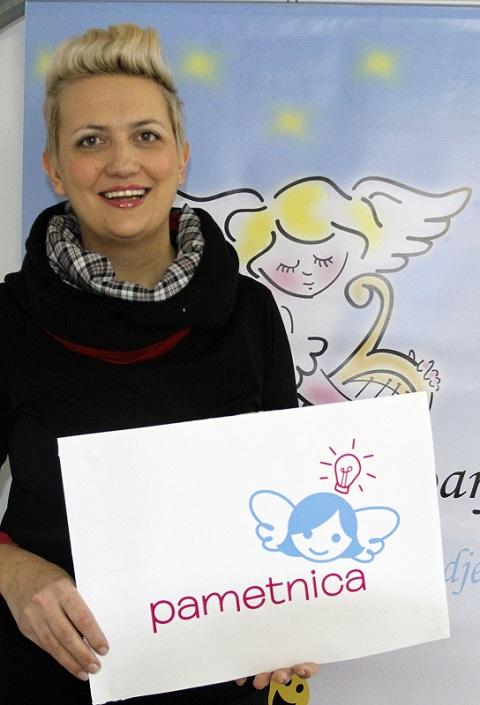 Irena Orlovic, autorica aplikacije Pametnica i vlasnica tvrtke Harfa. Photo: Tino Juric/PIXSELL