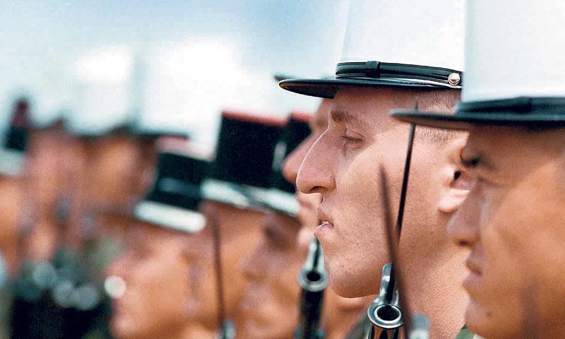 Moto Legije je 'Legio Patria Nostra' - Legija je naša domovina