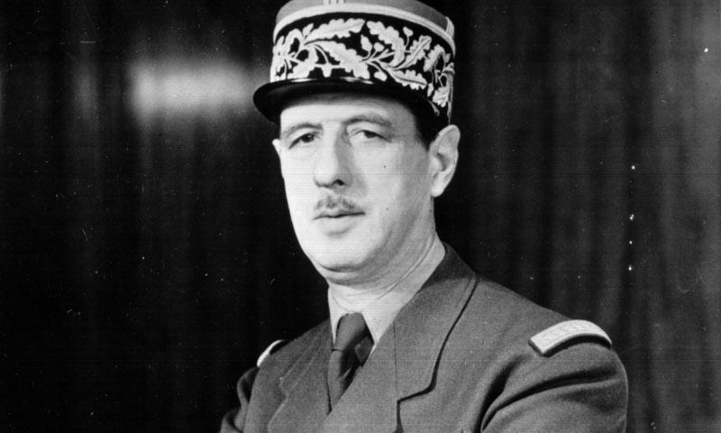 Predsjednik Francuske Charles de Gaulle 'zaratio' je s legionarima