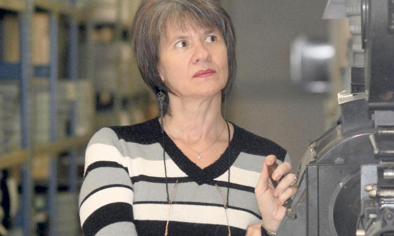 Carmen Lhotka upozorava da filmovi nepovratno propadaju/PIX