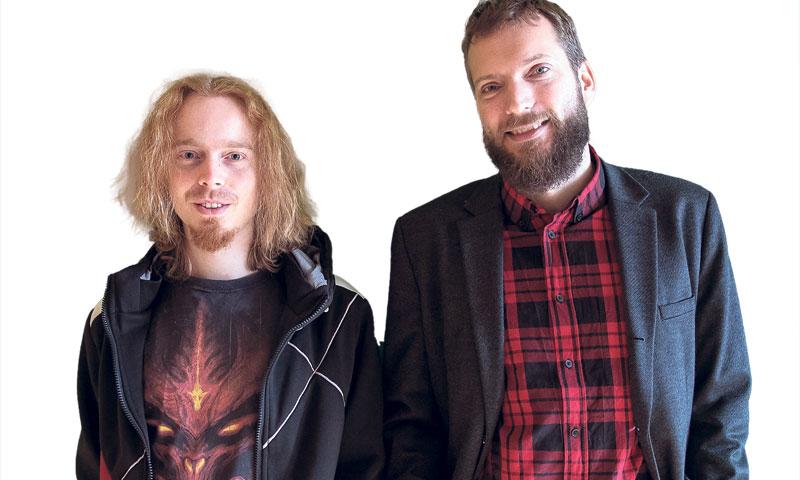 Etički haker Marin Maržić i nuklearni inženjer Nikola Škorić, osnivači Electrocoina/Davor Puklavec/P
