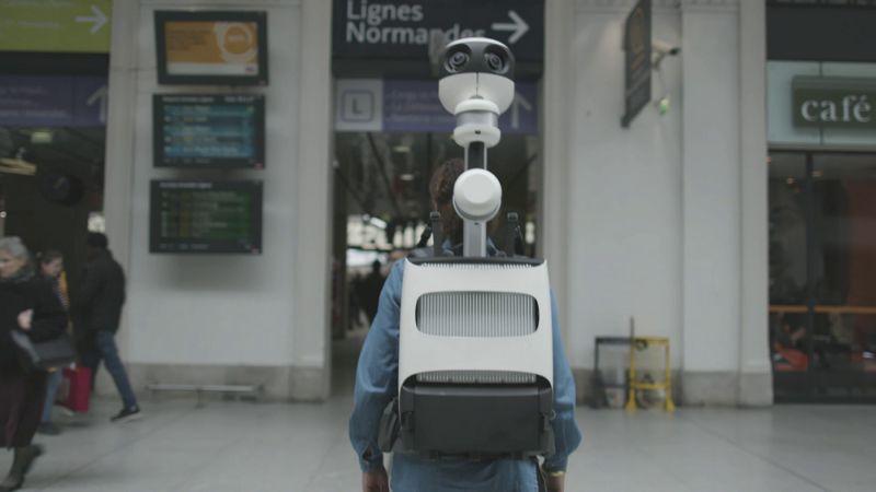Google Street Trekker. Press Foto