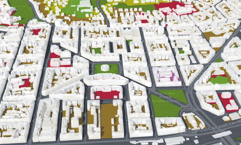 GDi Atlas podatkovni proizvodi znatno pomažu u prostornom i infrastrukturnom planiranju