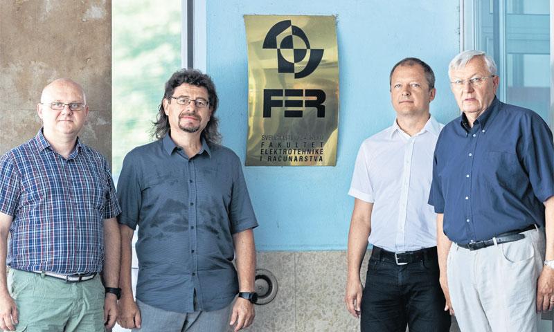 Profesori Stjepan Groš, Krešimir Fertalj, Boris Vrdoljak i Nikola Hadjina/Davor Puklavec/PIXSELL