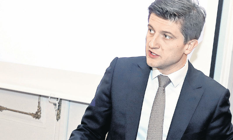 Ministar financija Zdravko Marić/Patrik Macek/PIXSELL