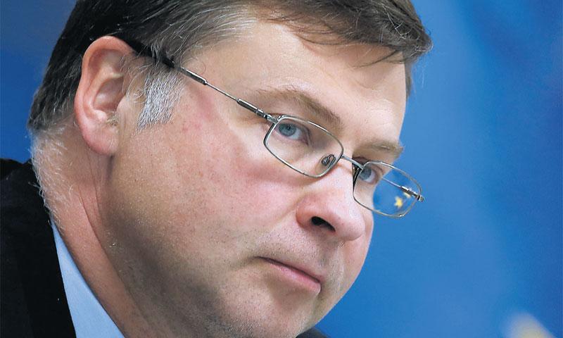 Valdis Dombrovskis, potpredsjednik EK/REUTERS