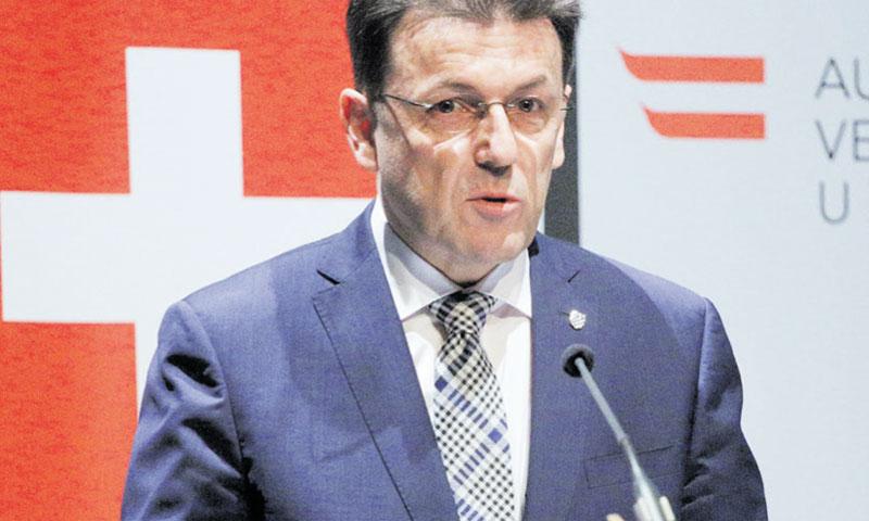Luka Burilović, predsjednik HGK/Žarko Bašić/PIXSELL