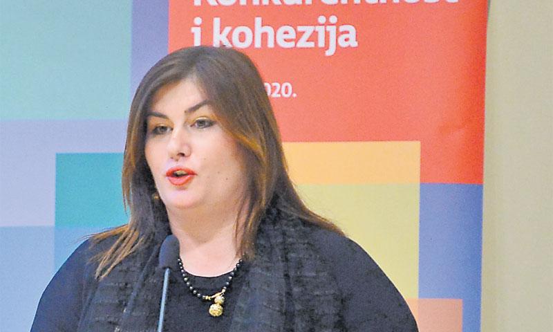 Ministrica regionalnog razvoja i fondova Europske unije Gabrijela Žalac/Marko PrpiĆ/PIXSELL