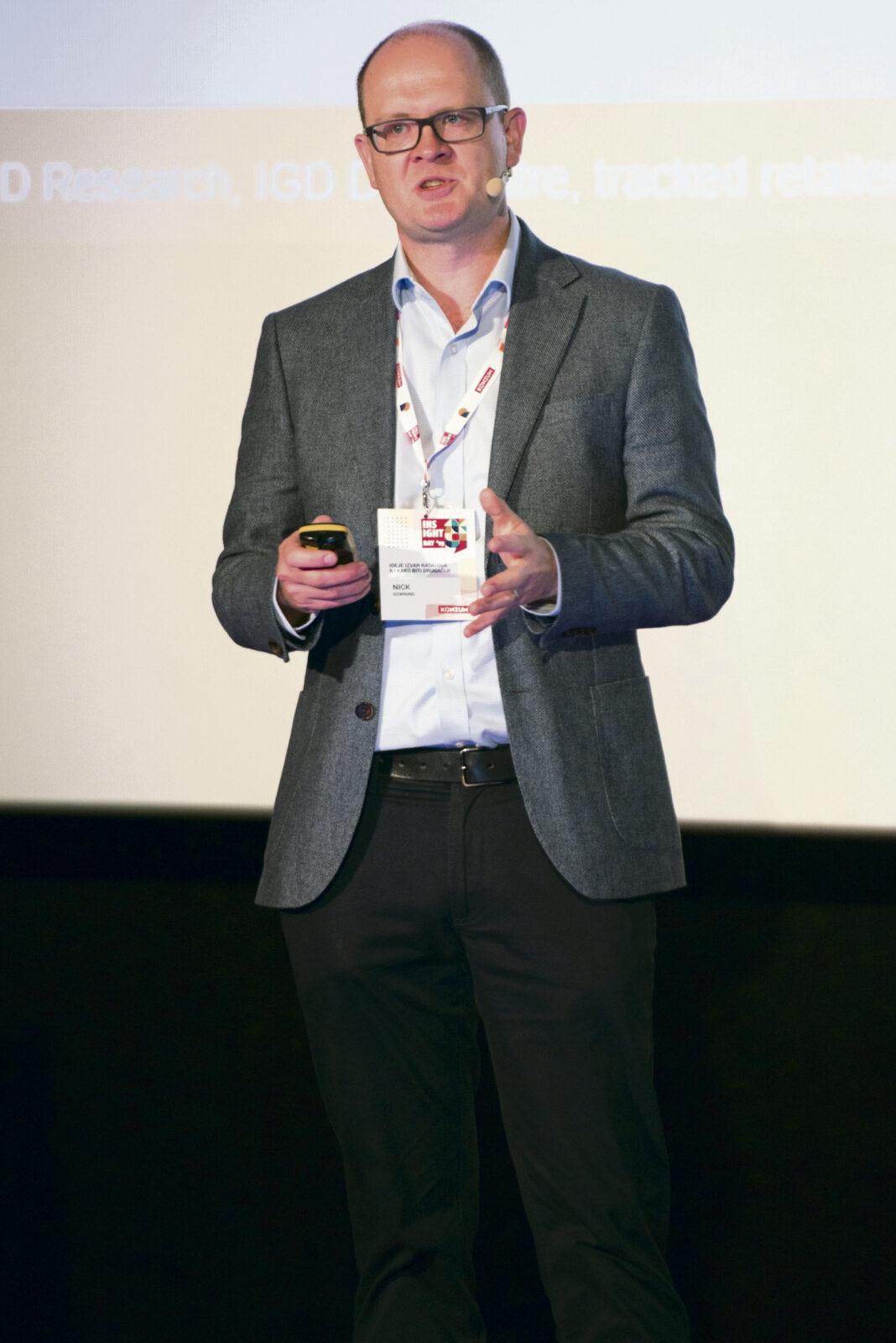Nick Downing, komercijalni direktor IGD-a
