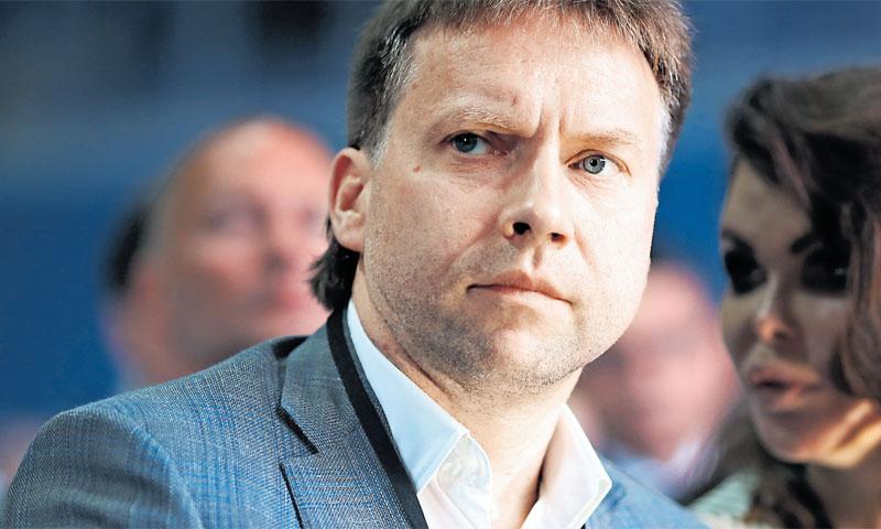 Maksim Poletaev danas je posebni savjetnik šefa Sberbanka za Agrokor/Igor Šoban/PIXSELL