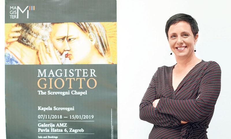 Andrea Perkov, generalna tajnica Talijansko-hrvatske gospodarske komore/Sanjin Strukić/PIXSELL