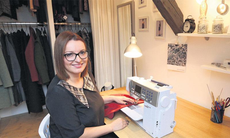 Petra Lasić, direktorica zagrebačke modne tvrtke LP Design/Anto Magzan/PIXSELL