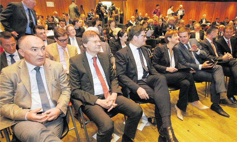 Predstavnik Styrije u Hrvatskoj Ivan Tolj pratio je panel-diskusije/Ž. Bašić/PIXSELL
