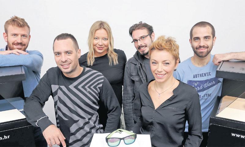 Holofiction tim: Filip Šarić, Goran Brezni, Andrea Gajger, Ivan Preskočil, Marina Ujaković i Jan Bar