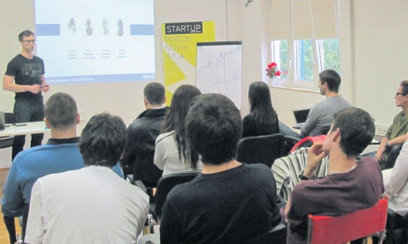 Startup inkubator pruža mladima podršku u razvoju poslovnih ideja