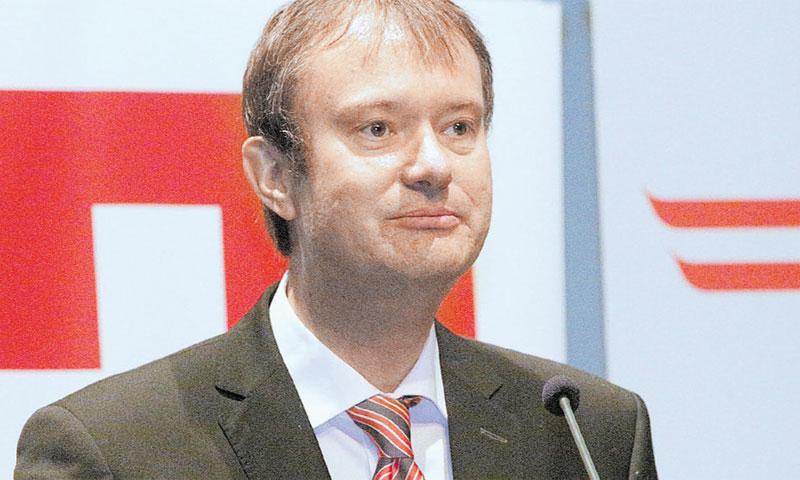 Švicarski veleposlanik u RH Stefan Estermann/Žarko Bašić/PIXSELL