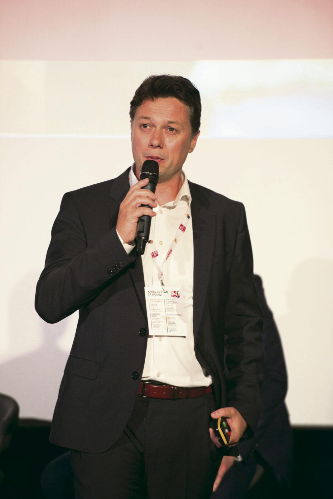 Slavko Ledić, predsjednik Uprave Konzuma