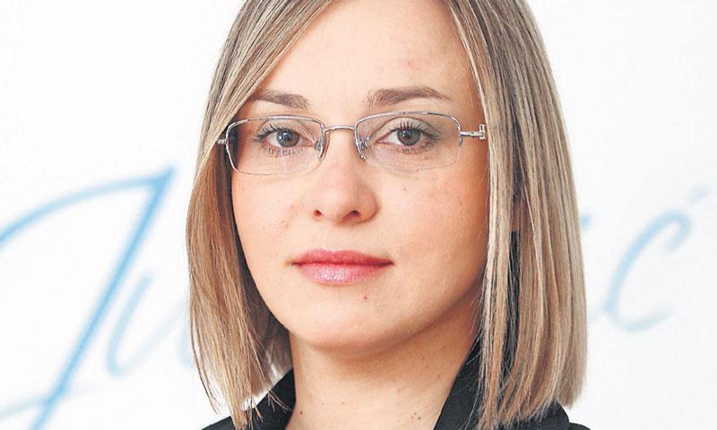 Martina Jurković, direktorica Službe upravljanja ljudskim potencijalima u Fini/DAVOR PUKLAVEC/PIXSEL