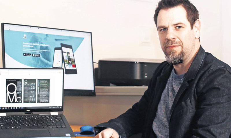 Petar Reić, suosnivač startupa OmoLab/Miranda Čikotić/PIXSELL