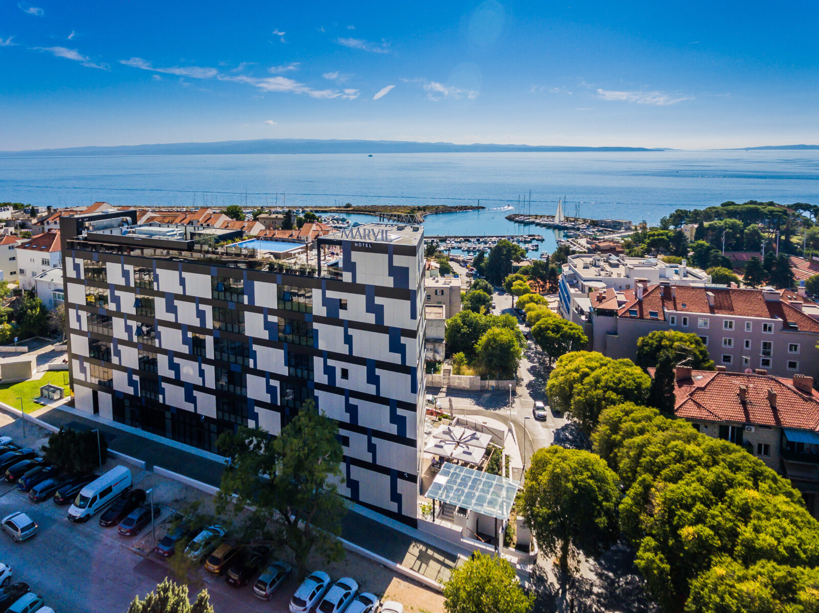 Marvie Living & Coworking_drone photo